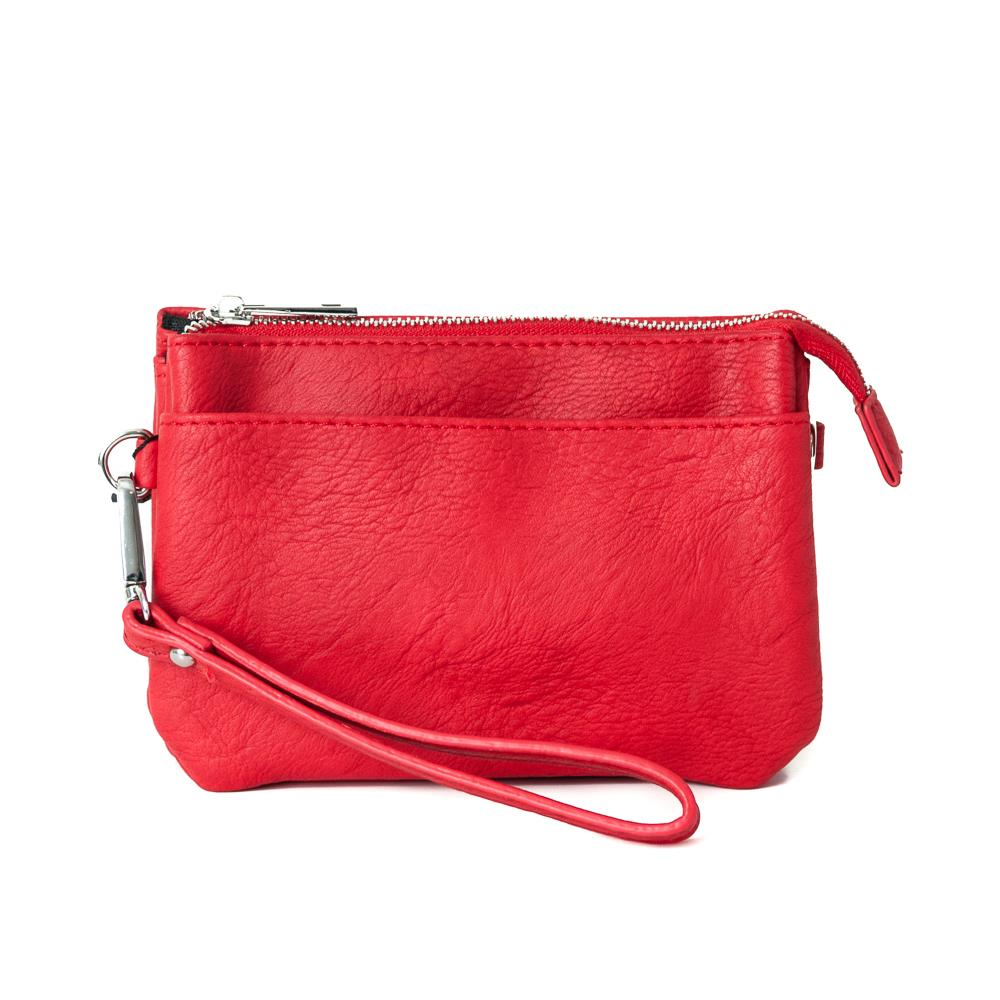 Bag, Anna purse red