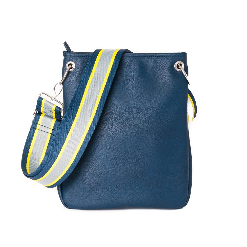 Bag, Darma small crossbag with ribbon navy