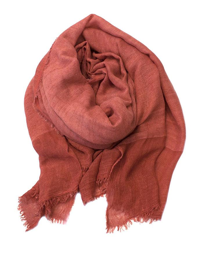 Scarf, wowen solid color