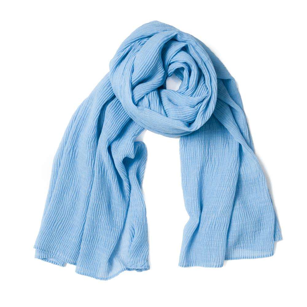 Scarf, viscose mix lt.blue