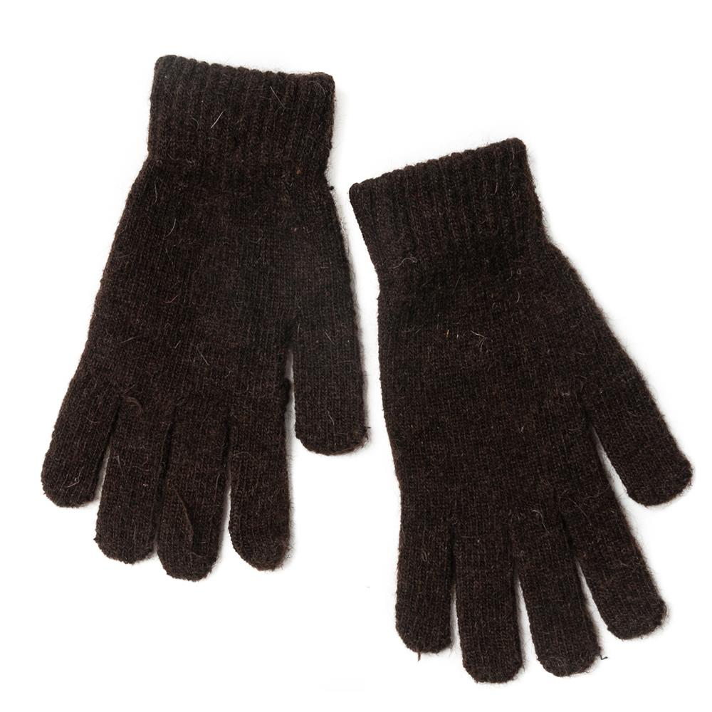 Gloves, Knitted Gloves brown