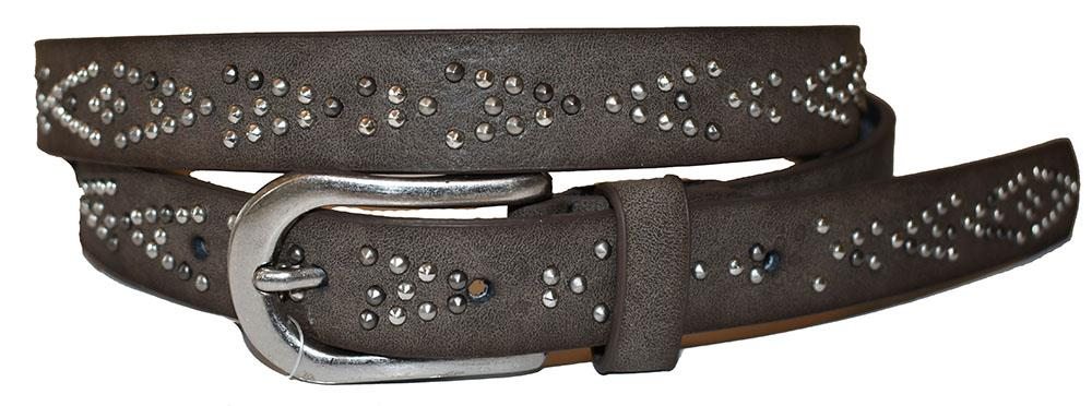 Belt, v-rivets