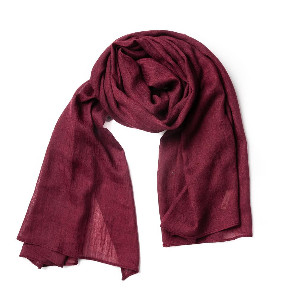 Scarf, small modal bordeaux