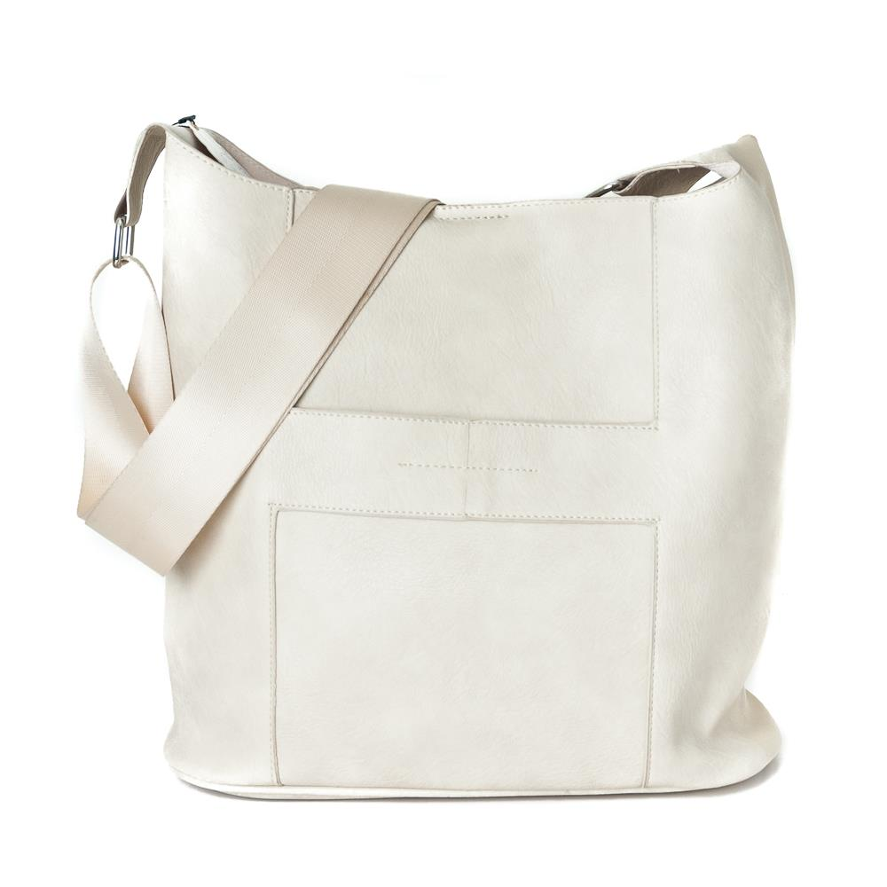 Bag, Anna cross light beige