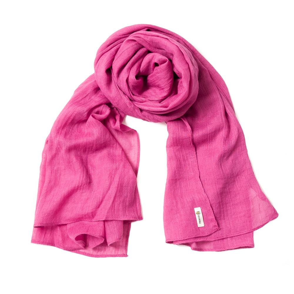 Scarf, small modal pink