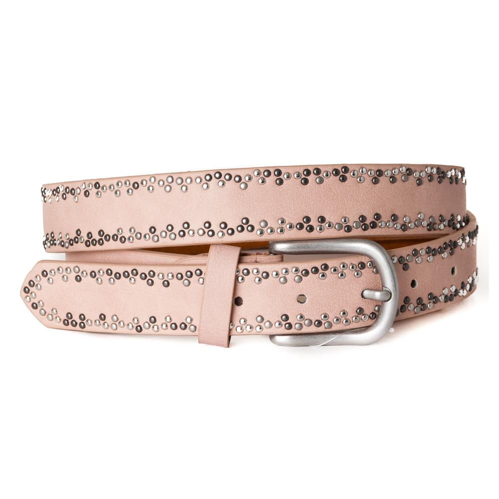 Belt, with rivets pattern Lt.Pink