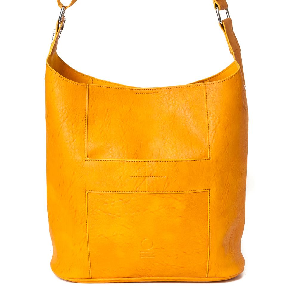 Bag, soft cross yellow