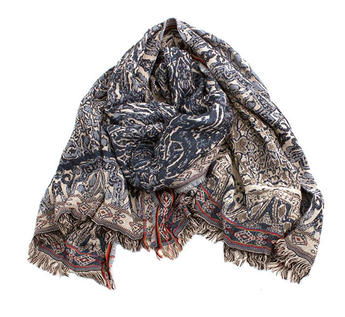Scarf, woven jaquard scarf