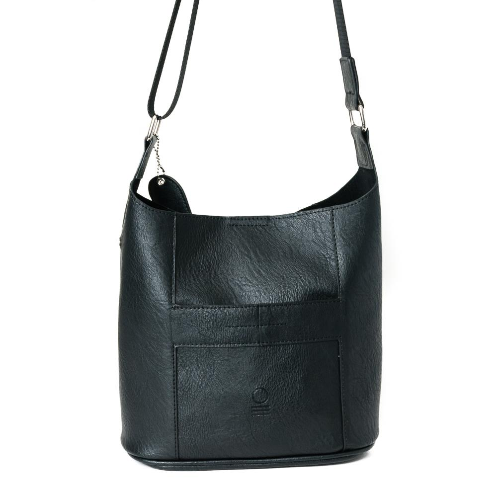 Bag, small soft cross black