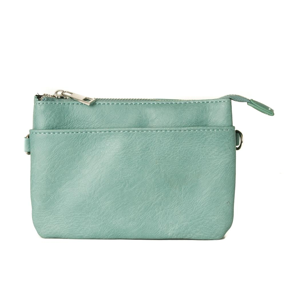 Bag, Anna purse lt green