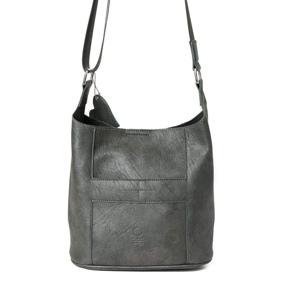 Bag, small soft cross grey