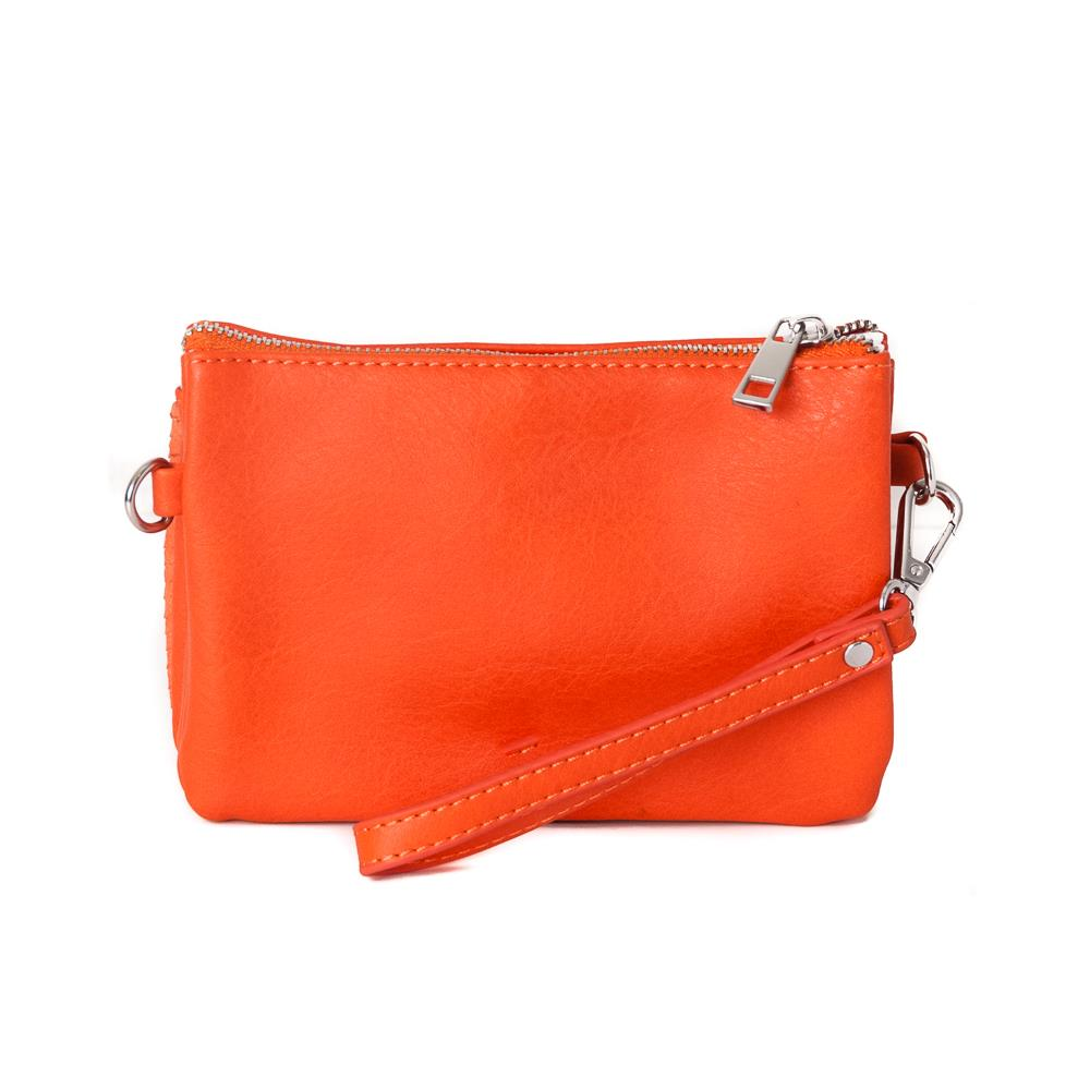 Veske ANNA clutch - orange