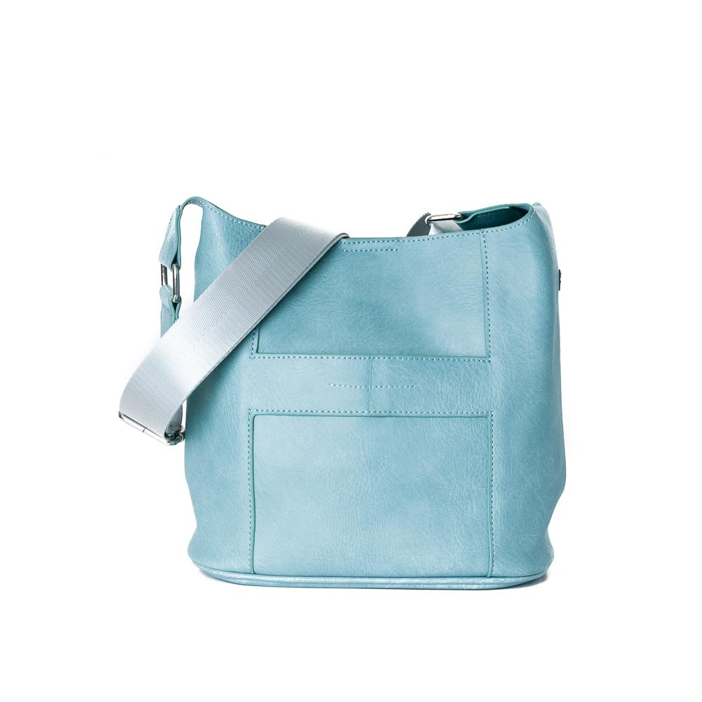 Bag, Anna small cross lt blue