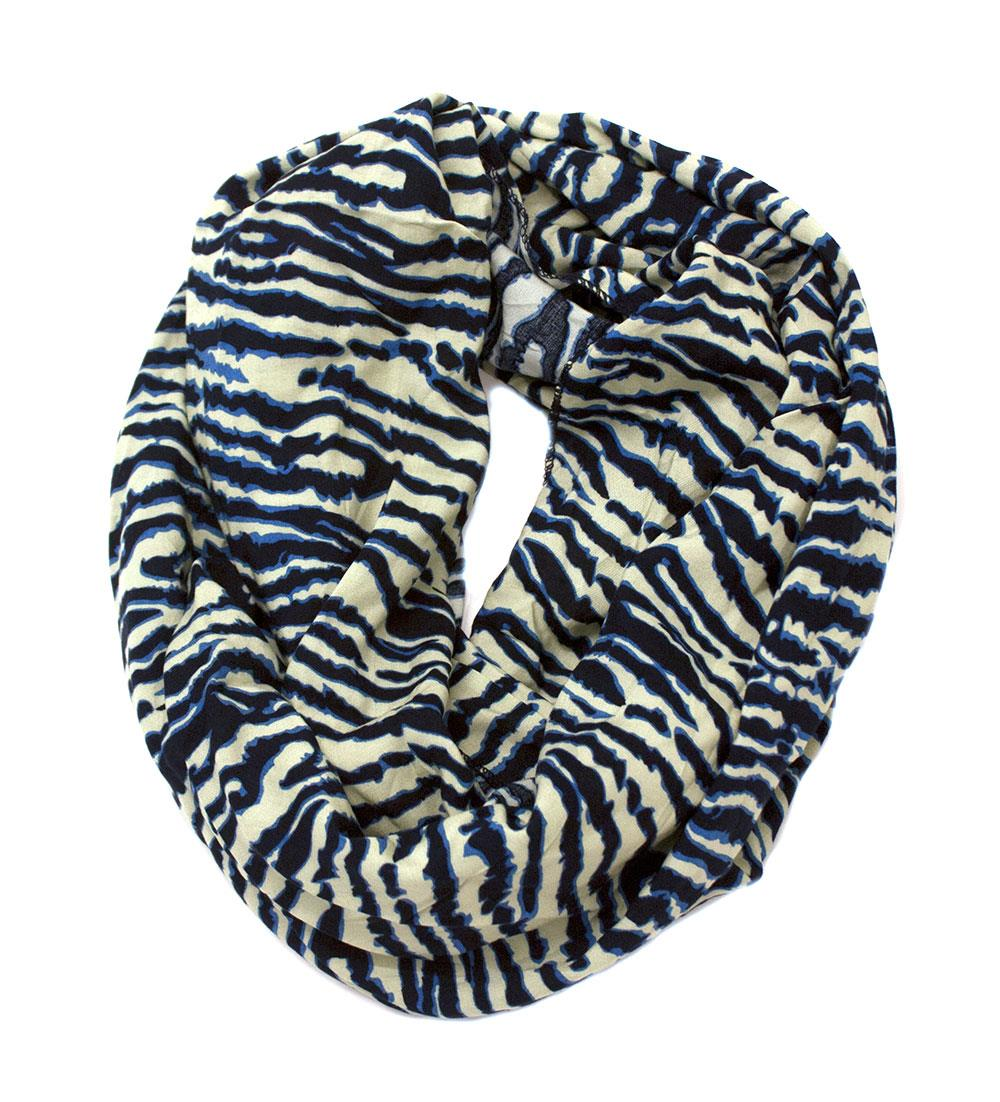 Scarf, tube w animalprint