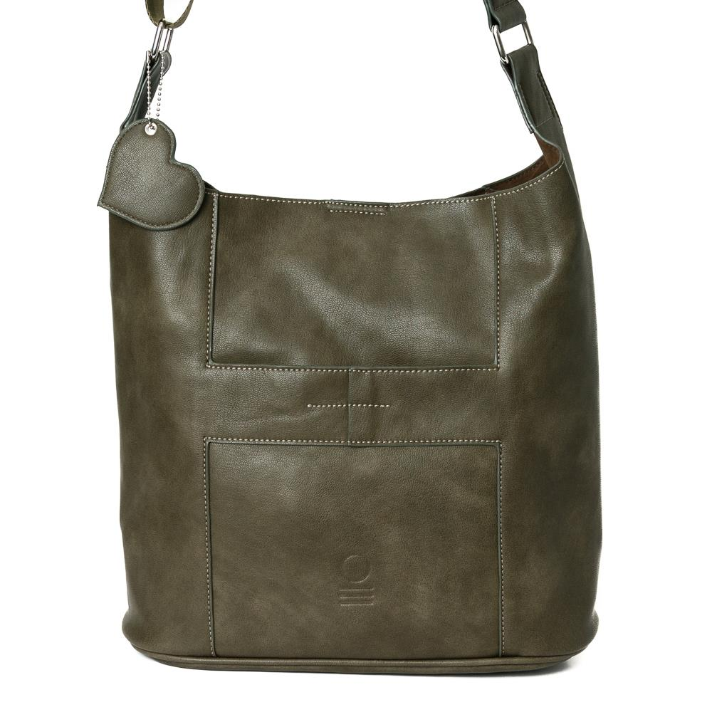 Bag, soft cross army green