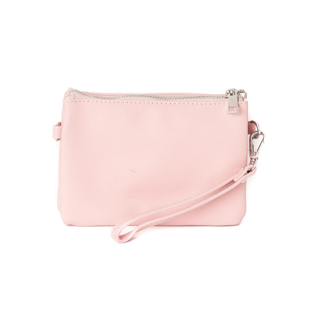 Bag, Anna zipper purse lt. pink