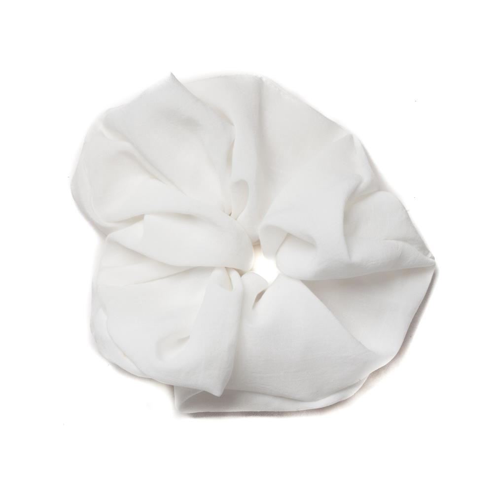 Scrunchie, Elastic white