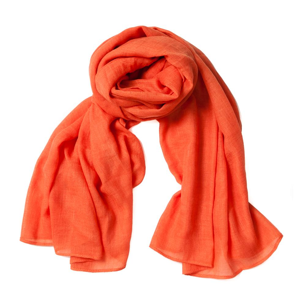 Scarf, small modal orange