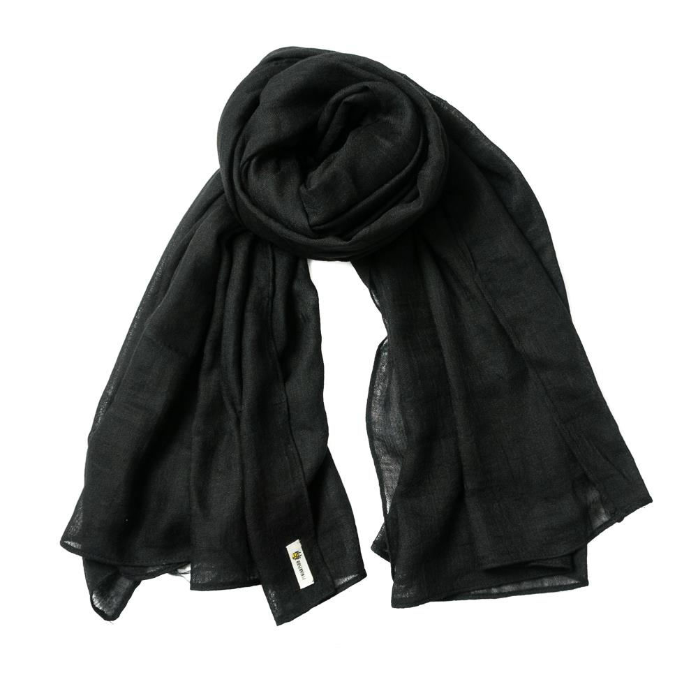 Scarf, small modal black