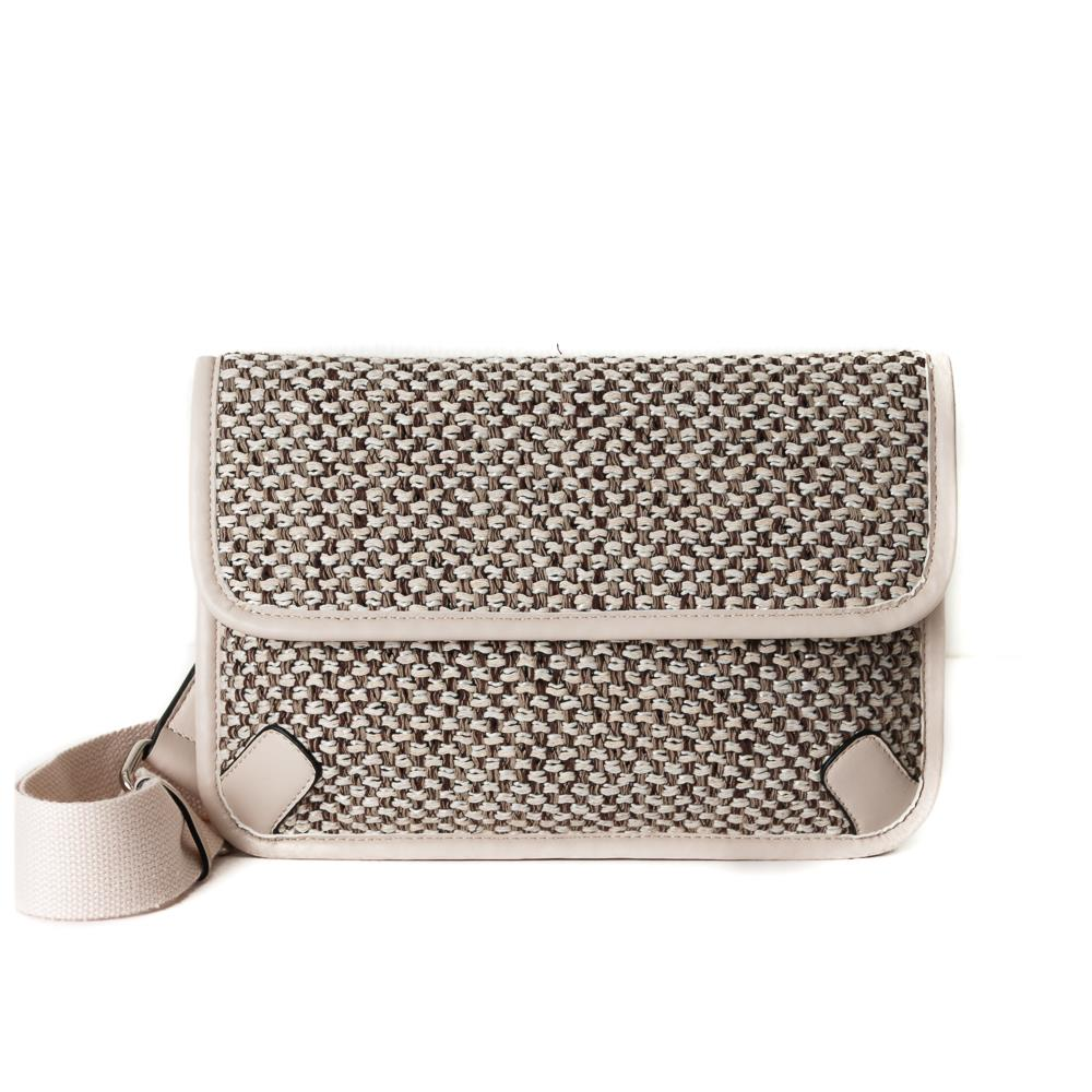 Bag, Tweed Cross offwhite