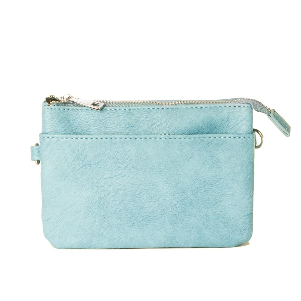 Bag, Anna purse lt blue