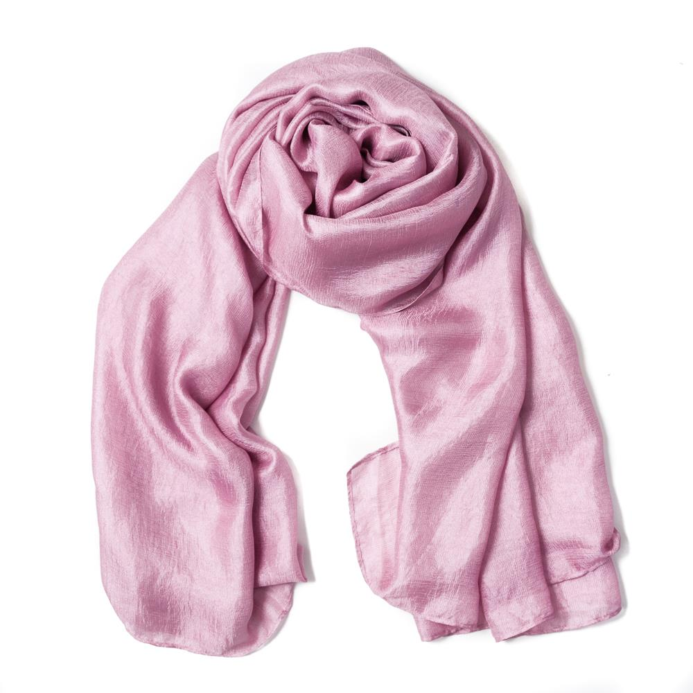 Scarf, party pink