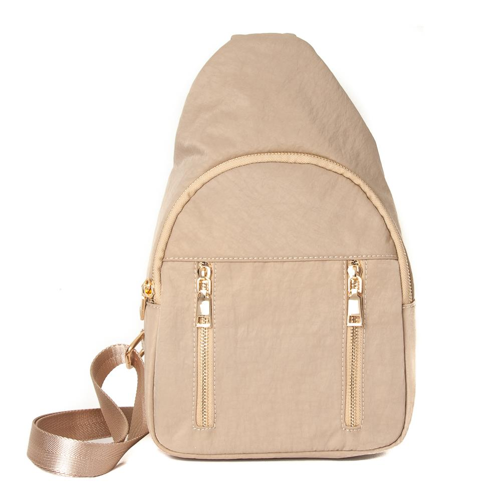 Bag, Dina cross sack beige