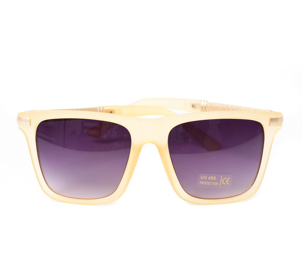 Sunglasses , matt surface beige