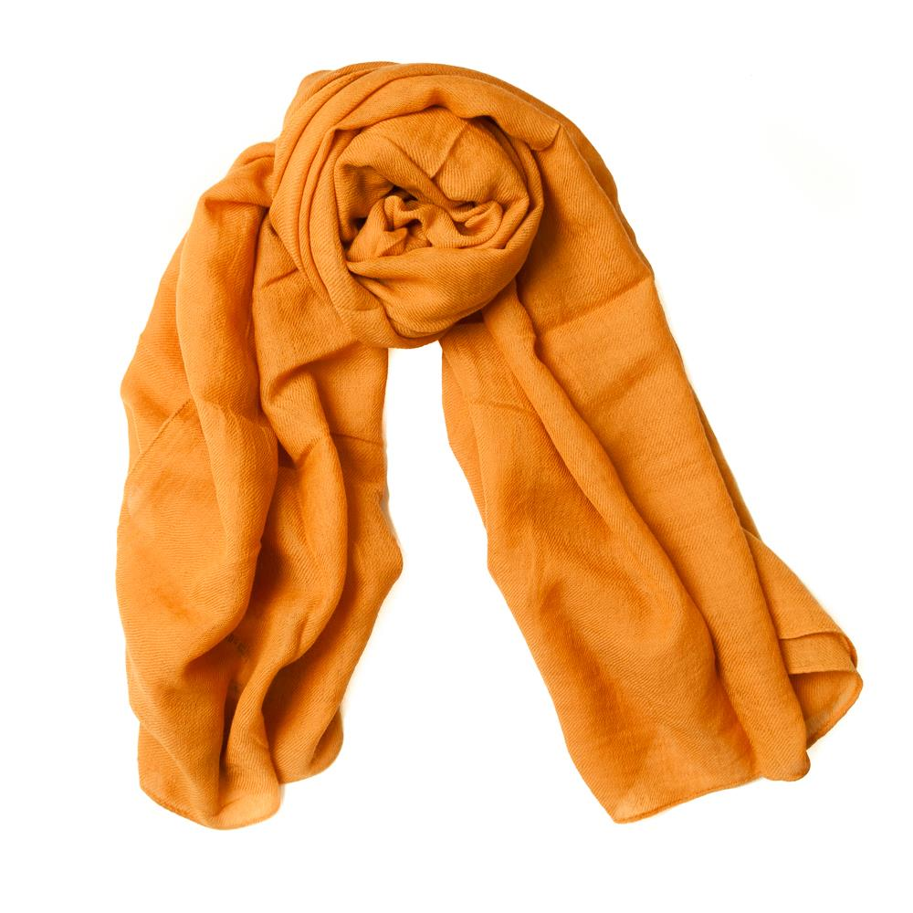 Scarf solid colored wool