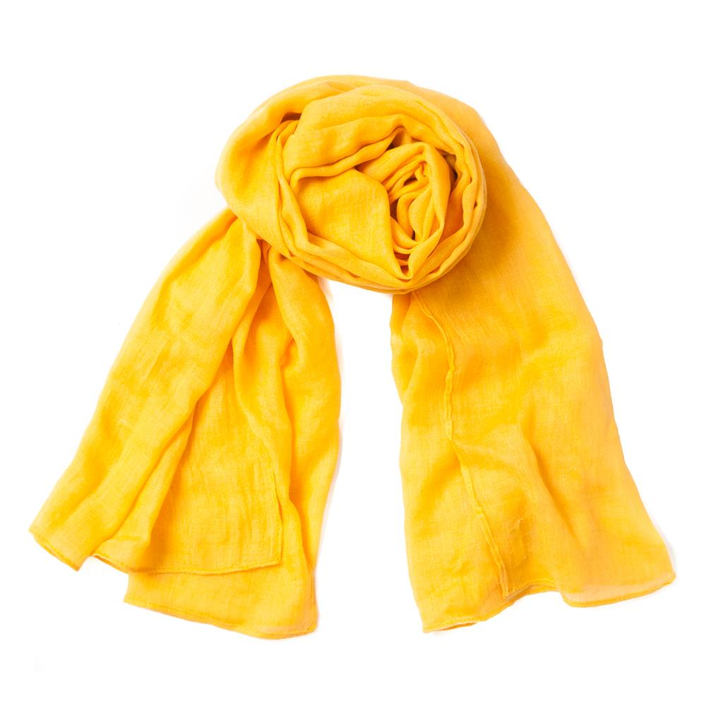 Scarf, small modal yellow