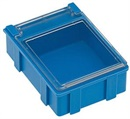 Snap-lid box blue medium 4 pcs