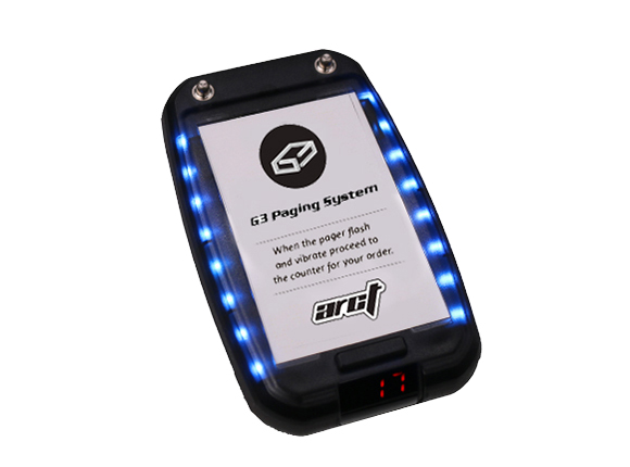 Guest pager IP 67