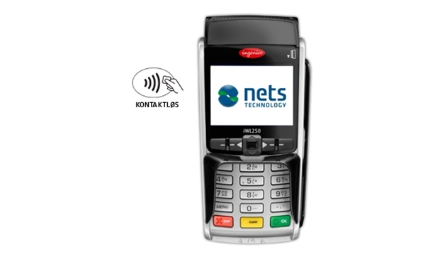 Nets iWL250G, mobil betalingsterminal, GPRS