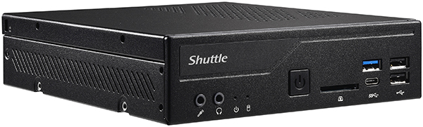 Shuttle PC DH310S i3-8100 8GB 120GB SSD u/Win.
