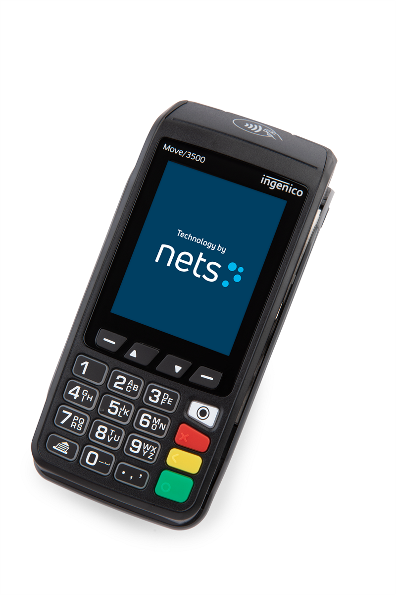 Nets Move 3500, mobil terminal, 4G/Wifi