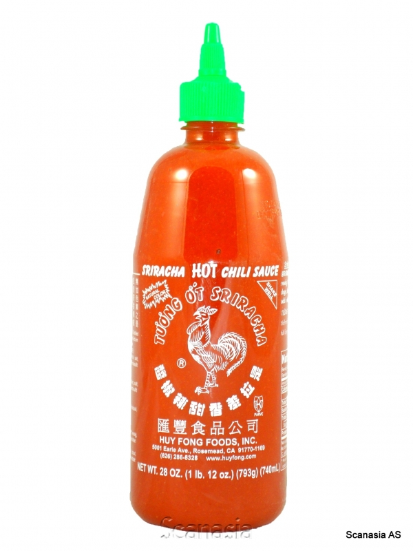 CHILISAUS HOT SRIRACHA 730 ml