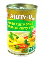 GREEN CURRY PASTE, AROY- D 400gr