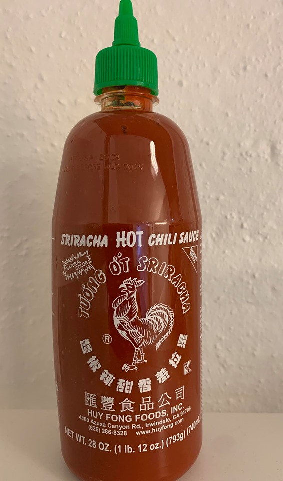 CHILISAUS HOT SRIRACHA