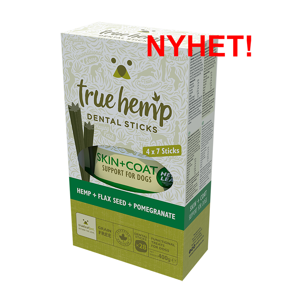 True Hemp Dental Sticks MULTI BOX - Skin+Coat