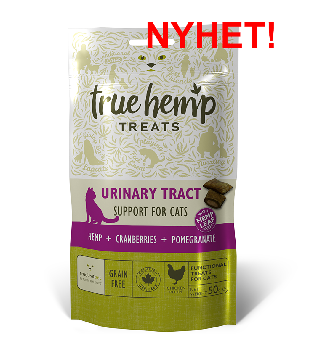 True Hemp Urinary Tract CAT treats