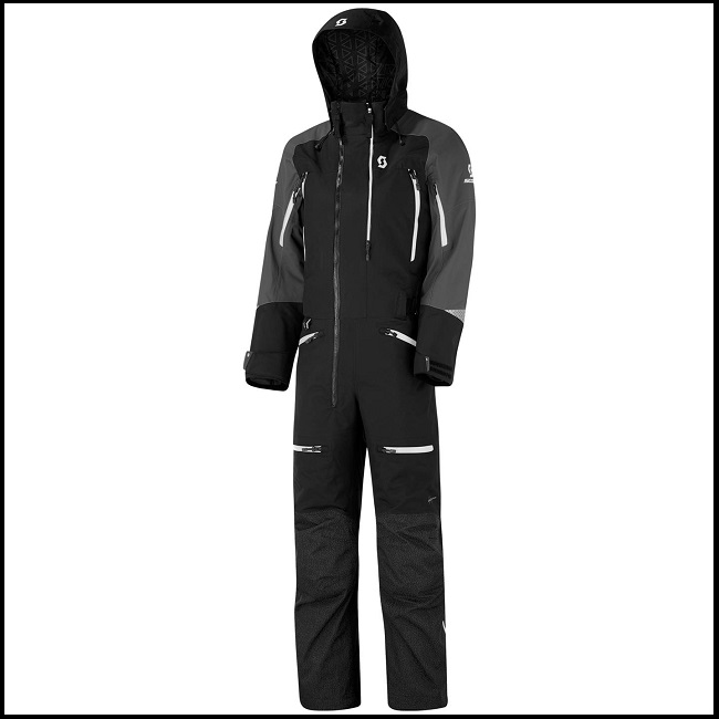 Scott Monosuit DS-I Dryo - Sort/Hvit M