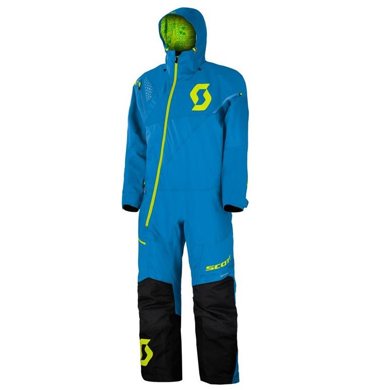 Scott Monosuit DS - Blå/Lime S