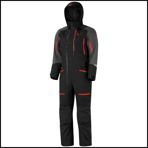 Scott Monosuit DS-I Dame - Sort/Grå M