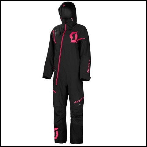Scott Monosuit DS, Dame - Sort XS