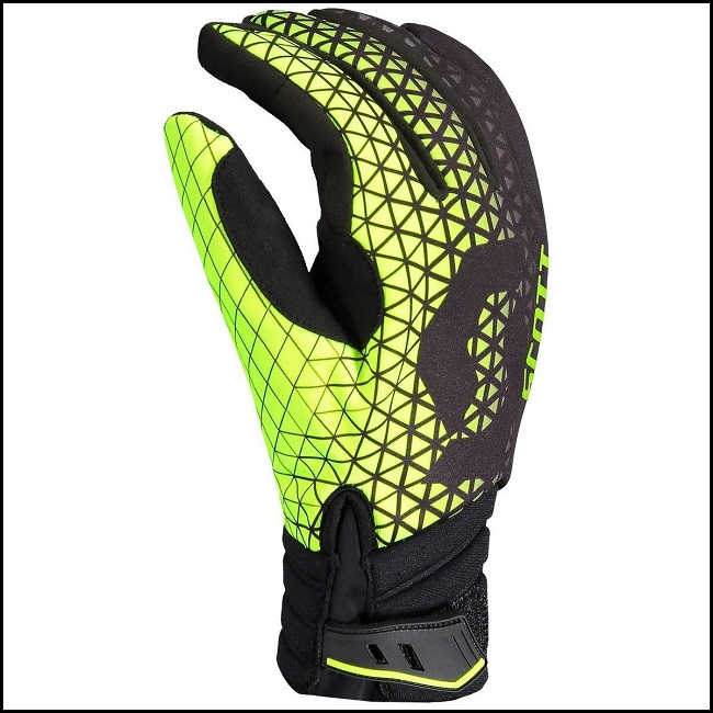 Scott Race DP Hansker - Sort/Lime, S