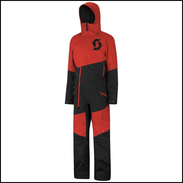 Scott Black-X Monosuit S