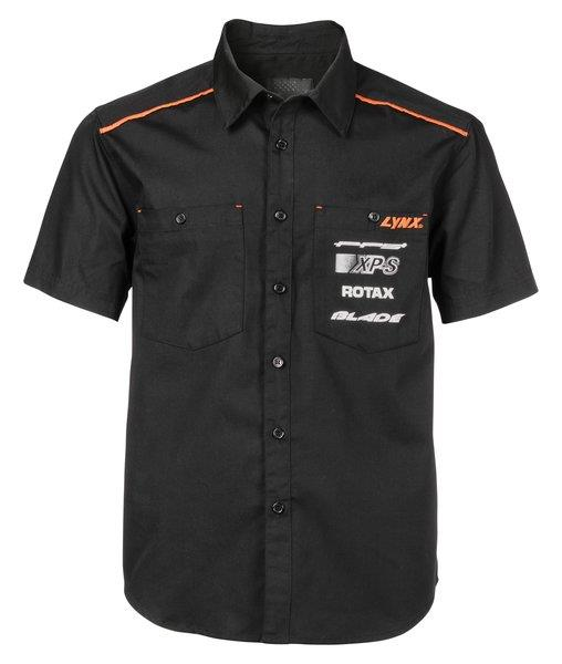 LYNX HERITAGE SHORT SLEEVE SHIRT M