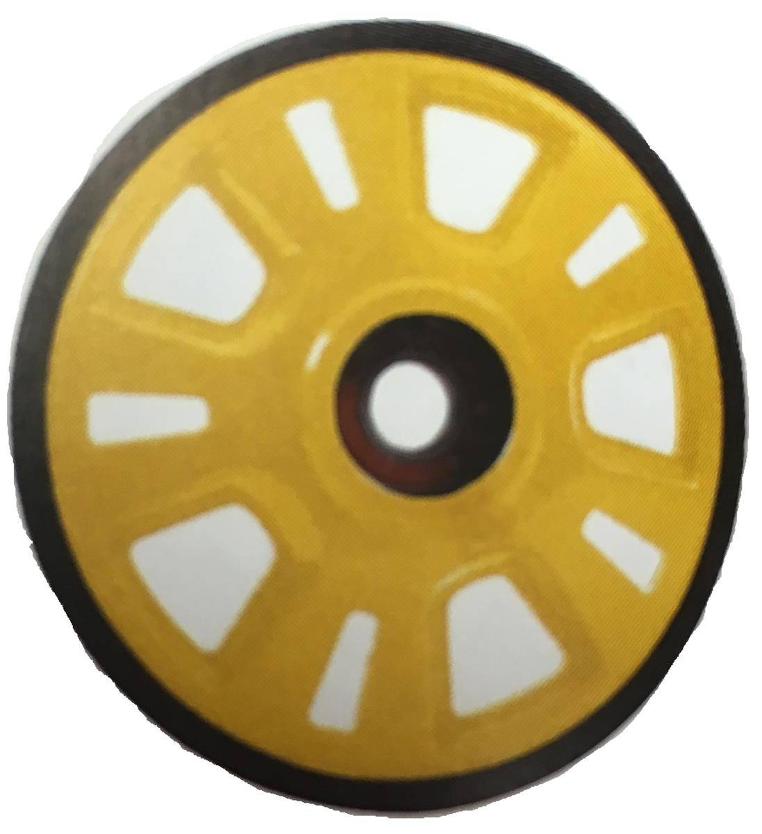 YELLOW WHEEL ASS Y, 180 MM