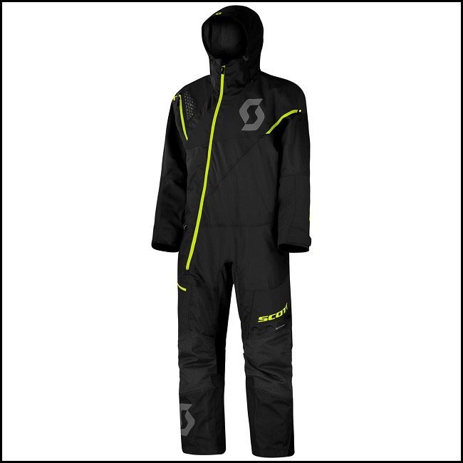 Scott Monosuit DS - Sort/Gul M