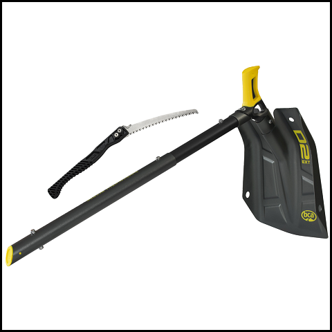 LYNX BCA D2 EXT SHOVEL WITH SAW